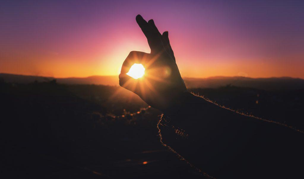 sunset, day, summer